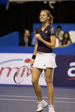 Kirilenko at the Showdown of Champions Tennis Stock Image