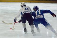 Kirill Petrovskiy (blau) und Shadrin Eugeniy Stockbilder