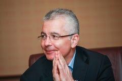Kirill Tatarinov à la convergence de Microsoft image libre de droits