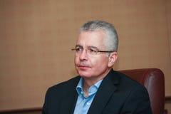 Kirill Tatarinov à la convergence de Microsoft photo stock