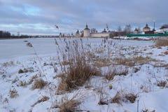 Kirillo-Belozerski rezerwa Zdjęcia Royalty Free