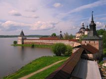 Kirillo - Belozersky kloster Arkivfoto