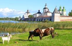 Kirillo-Belozersky monastery by day. Royalty Free Stock Image
