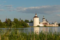 Kirillo-Belozersky monastery. The male monastery of the Vologda Diocese of the Russian Orthodox Church. Kirillo-Belozersky monastery. Monastery of the Russian stock photography