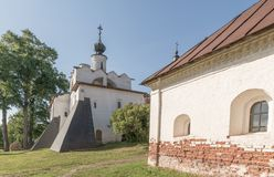 Kirillo-Belozersky monastery. The male monastery of the Vologda Diocese of the Russian Orthodox Church. Kirillo-Belozersky monastery. Monastery of the Russian royalty free stock images