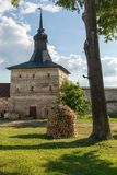 Kirillo-Belozersky monastery. The male monastery of the Vologda Diocese of the Russian Orthodox Church. Kirillo-Belozersky monastery. Monastery of the Russian stock images