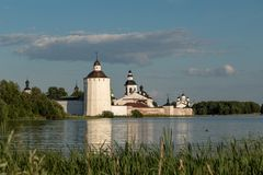 Kirillo-Belozersky monastery. The male monastery of the Vologda Diocese of the Russian Orthodox Church. Kirillo-Belozersky monastery. Monastery of the Russian stock image