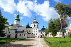 Kirillo-Belozersky monastery at summer. Royalty Free Stock Photo