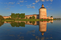 Kirillo-Belozersky monastery, towers Royalty Free Stock Image