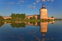 Kirillo-Belozersky monastery, towers royalty free stock image