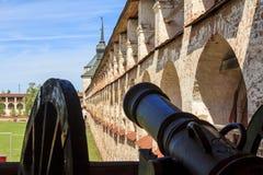 Kirillol-Belozersky修道院堡垒  图库摄影