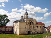 Kirillov - cattedrale Fotografie Stock