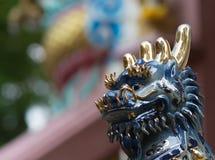 Kirin Chinese Magical Animal Statue Arkivfoto