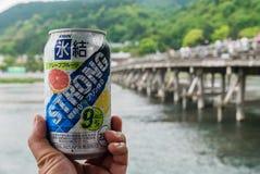 Kirin Hyouketsu Strong Grapefruit CHU-ciao fotografie stock