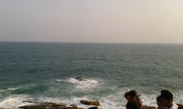 Kirinda strand Arkivfoto