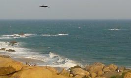 Kirinda strand Fotografering för Bildbyråer