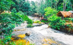 Kirirom National Park is on Kirirom Mountain located in Kampong Speu Province Cambodia. Preah Soramrit Kosamak Kirirom National Park is on Kirirom Mountain, in Stock Images