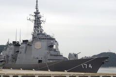Kirishima torpedo missile destroyer Stock Photo