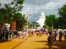 Kirivehara świątynia Obrazy Royalty Free