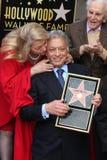 Kirk Douglas, Zubin Mehta Stock Image