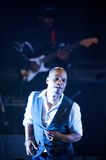 Kirk Franklin. Live in Warsaw Stock Photo
