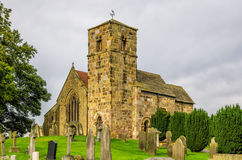Kirk Hammerton church, North Yorkshire. Royalty Free Stock Image