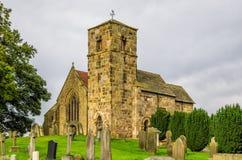 Kirk Hammerton church, North Yorkshire. Royalty Free Stock Image