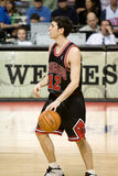 Kirk Hinrich Has The Ball Royaltyfria Bilder