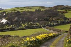 Kirk Maughold Church - Isle of Man stockfotografie