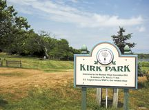 Kirk Park Montauk New York editorial fotografia de stock royalty free