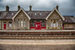 Kirkby Stephen Station, Cumbria, het UK stock foto