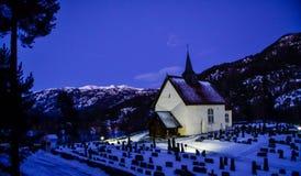 Kirke de Seljord Foto de archivo