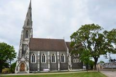Kirke engelske вертепа Англиканской церкви ` s St Alban также известное как английская церковь, Копенгаген, Дания Стоковое Изображение RF