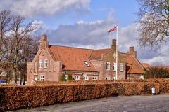 Kirkestien 1 (Viby Præstegård)DSC_1359_60_61_Realistic Royalty Free Stock Photos