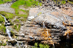 Kirkham Hotsprings - Idaho Fotografia Royalty Free