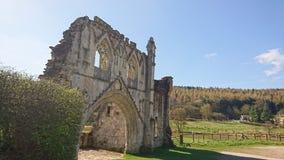 Kirkham priorskloster Yorkshire England Arkivfoton