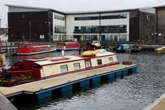 Kirkintilloch : marina Images stock