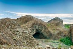 Kirkjan grotta royaltyfria foton