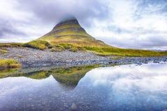 Kirkjufell góra na Iceland Obraz Stock