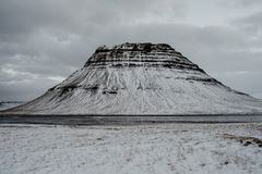 Kirkjufell, Iceland royalty free stock photo