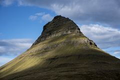 Kirkjufell mountain. Iceland royalty free stock photos