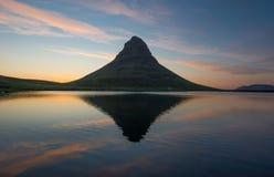 Kirkjufell mountain, Snaefellsnes peninsula, Iceland Royalty Free Stock Photography