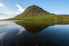 Kirkjufell mountain, Snaefellsnes peninsula, Iceland Royalty Free Stock Photos