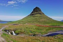 Kirkjufell mountain in Snaefellsnes peninsula.