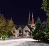 Kirkko de Tuomi Tampere finlandia Imagenes de archivo
