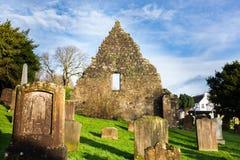 Kirkoswald-Friedhofs-Ayrshire-Rind machte berühmt durch Robert Burns Stockbilder