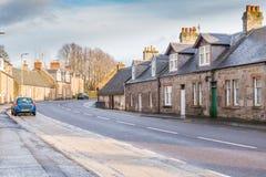 Kirkoswald Main Street Ayrshire Scotland. Stock Images