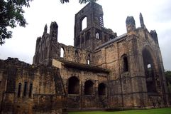 Kirkstall Abbey. Trip to the old abbey near Leeds Stock Images