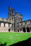 Kirkstall Abbey, Leeds, England. Kirkstall Abbey is a ruined Cistercian monastery in Kirkstall north-west of Leeds city centre in West Yorkshire, England. It is Stock Photography
