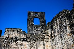 Kirkstall Abbey, Leeds, England. Kirkstall Abbey is a ruined Cistercian monastery in Kirkstall north-west of Leeds city centre in West Yorkshire, England. It is Stock Images